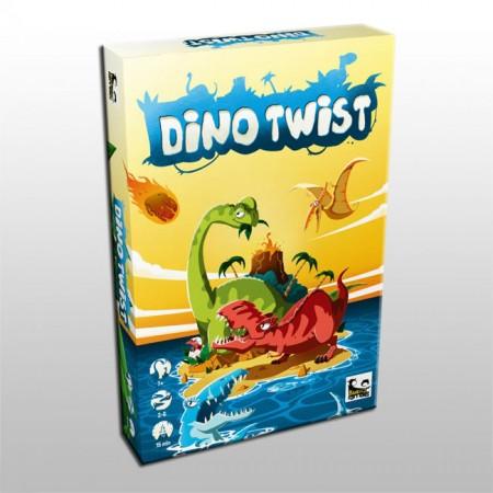 Настолна игра Dino Twist