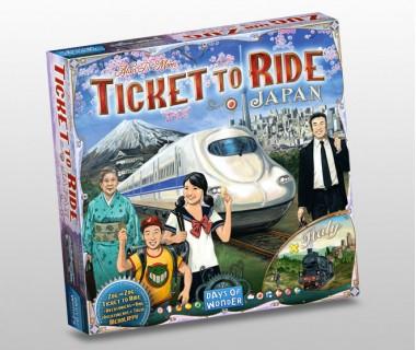 Настолна игра Ticket to Ride Japan - Italy