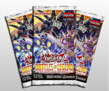 YuGiOh Battles of Legend Relentless Revenge Booster