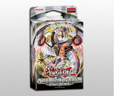 YuGiOh Cyber Dragon Revolution Structure Deck