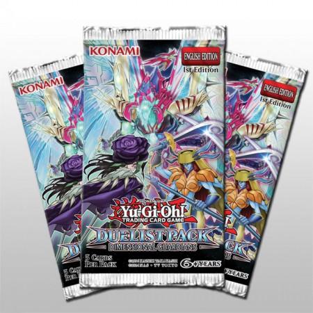 YuGiOh Dimensional Guardians Duelist Pack