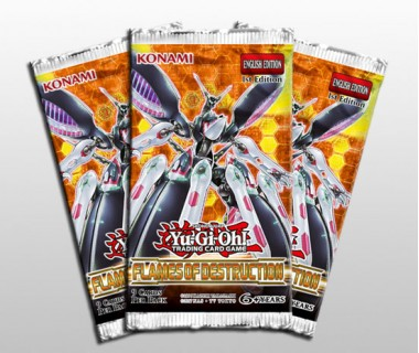 YuGiOh Flames of Destruction Booster