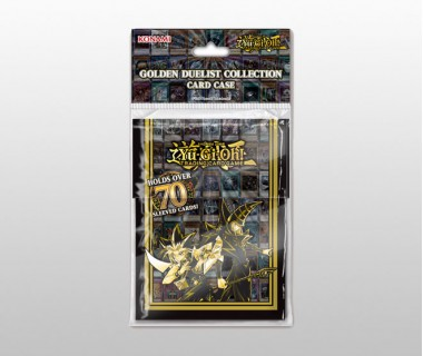 YuGiOh Golden Duelist Collection Card Case