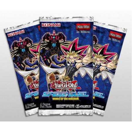 YuGiOh Speed Duel Trials of the Kingdom Booster