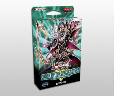 YuGiOh Order of the Spellcasters Structure Deck