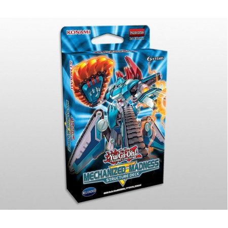 YuGiOh Mechanized Madness Structure Deck