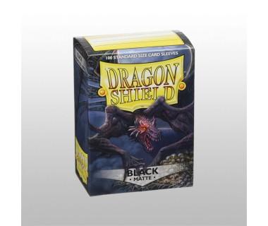 Стандартни протектори Dragon Shield (100) ЧЕРНИ МАТ