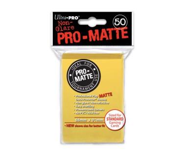Стандартни протектори Pro-Matte жълти