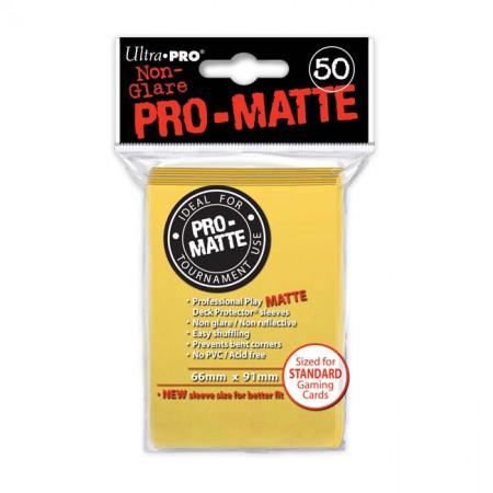Стандартни протектори Pro-Matte (50) жълти
