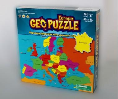 GeoPuzzle Европа