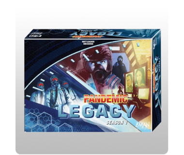 Pandemic Legacy - Blue box