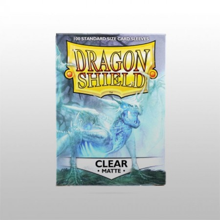 Стандартни протектори Dragon Shield (100) ПРОЗРАЧНИ МАТ