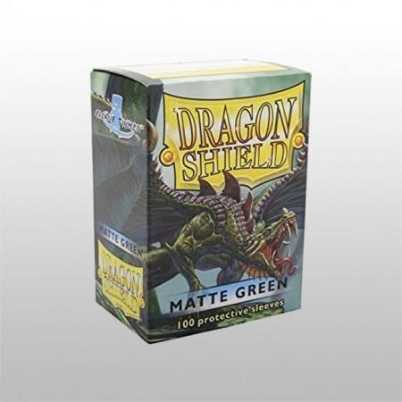 Стандартни протектори Dragon Shield (100) ЗЕЛЕНИ МАТ