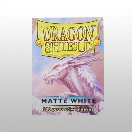 Стандартни протектори Dragon Shield (100) БЕЛИ МАТ
