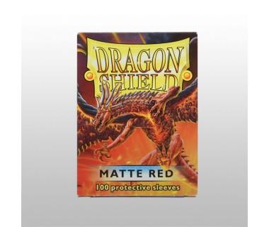 Стандартни протектори Dragon Shield (100) ЧЕРВЕНИ МАТ