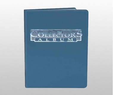 Папка с листа А4 - синя