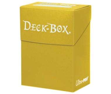 Кутийка за карти - жълта