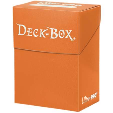 Кутийка за карти - оранжева