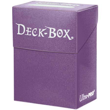 Кутийка за карти - лилава