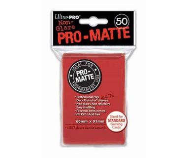 Стандартни протектори Pro-Matte (50) червени
