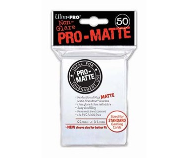 Стандартни протектори Pro-Matte (50) бели
