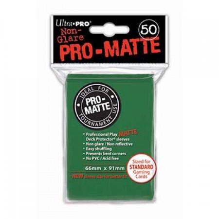 Стандартни протектори Pro-Matte (50) зелени