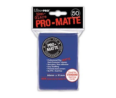 Стандартни протектори Pro-Matte (50) сини
