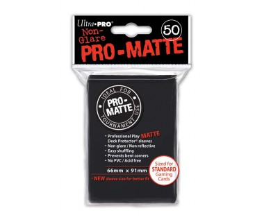 Стандартни протектори Pro-Matte (50) черни