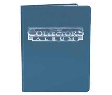 Мини папка с листа А5 - синя