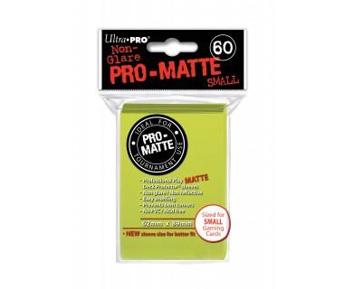 Малки протектори Pro-Matte (60) светло жълти