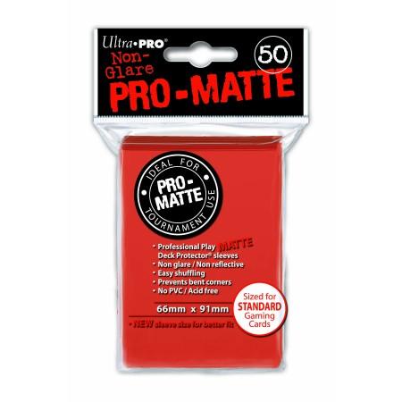 Стандартни протектори Pro-Matte (50) праскова