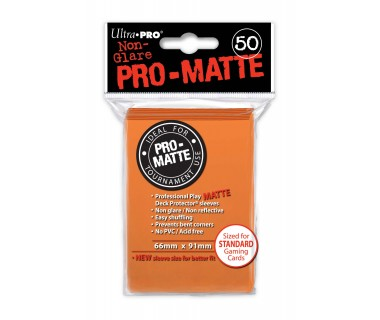 Стандартни протектори Pro-Matte (50) оранжеви
