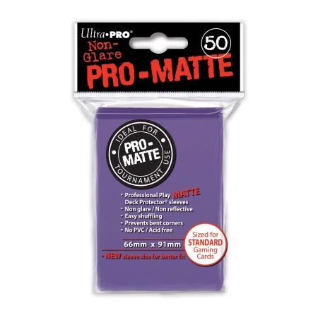 Стандартни протектори Pro-Matte (50) лилави