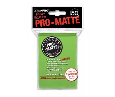 Стандартни протектори Pro-Matte (50) светло зелени