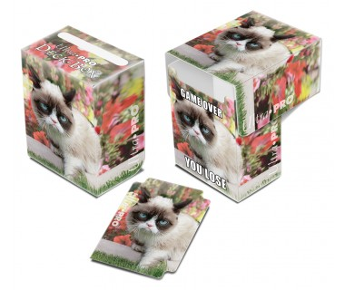 Кутийка за карти Grumpy Cat Flowers