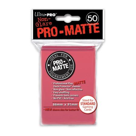 Стандартни протектори Pro-Matte (50) фуксия