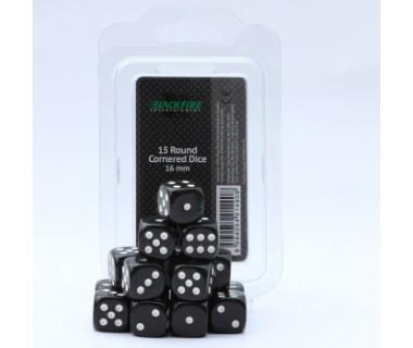 Зарчета комплект Blackfire 15бр-16mm-D6-Черни