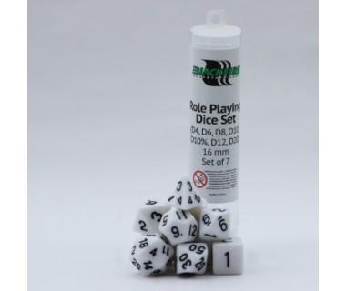 Многостенни зарчета комплект Blackfire - бели