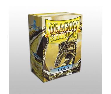 Стандартни протектори Dragon Shield (100) златни