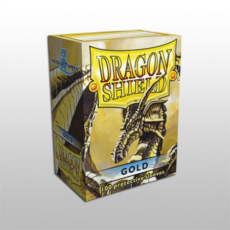 Стандартни протектори Dragon Shield (100) златни