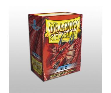 Стандартни протектори Dragon Shield (100) червени