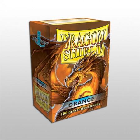 Стандартни протектори Dragon Shield (100) оранжеви