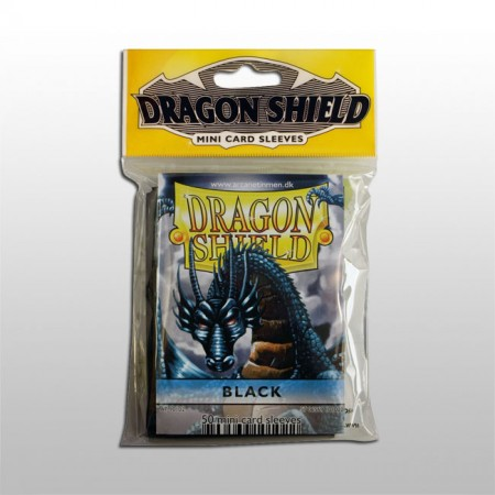 Малки протектори Dragon Shield (50) черни