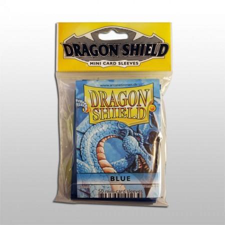 Малки протектори Dragon Shield (50) сини