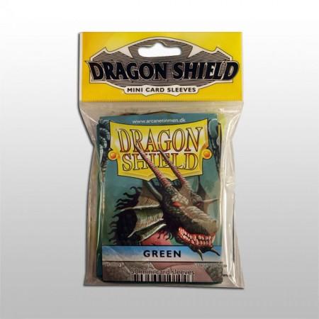 Малки протектори Dragon Shield (50) зелени