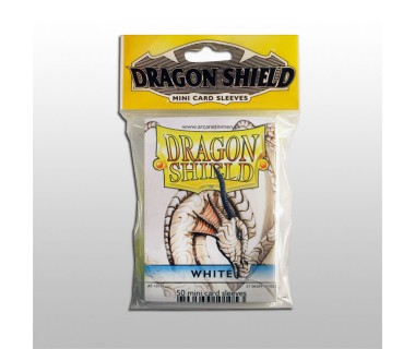 Малки протектори Dragon Shield (50) бели