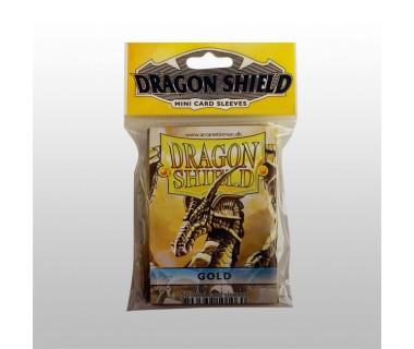 Малки протектори Dragon Shield (50) златни