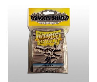 Малки протектори Dragon Shield (50) сребърни