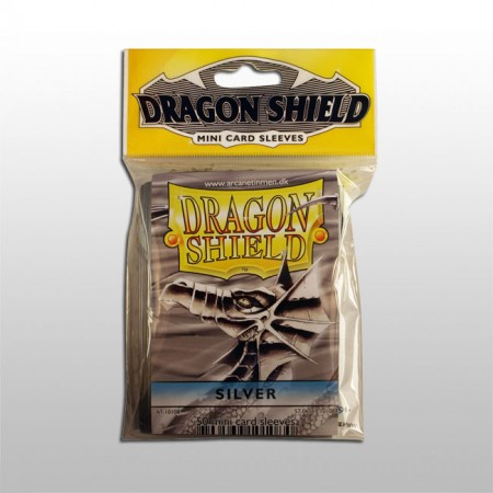 Малки протектори Dragon Shield (50) сребърни