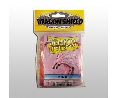 Малки протектори Dragon Shield (50) розови